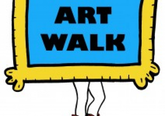 Downtown Red Bluff Art Walk sponsored by Tehama Co Arts Council