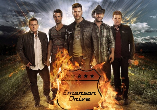 EMERSON DRIVE   with special guest Lucas Hoge