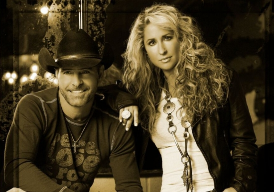 Heidi Newfield & Keith Burns