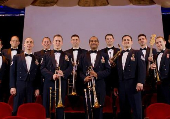 """The Commanders Jazz Ensemble"" presented by USAF Band of the Golden West"
